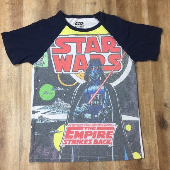 Star Wars Tops - Star Wars Vintage Empire Strikes Back Tee Shirt S